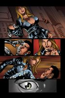 color portfolio: The Bounce issue7 pag3 by shiprock