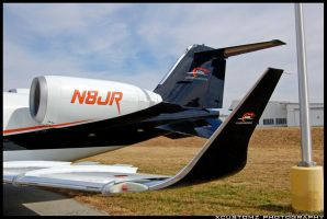 Learjet 60 N8JR III by xcustomz