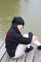 Uchiha Sasuke - lonely by Dark-Uke