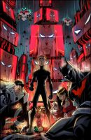 Batman Beyond Universe #8 by KharyRandolph
