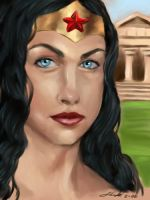 Diana of Themyscira by digistyle