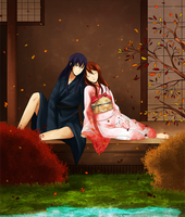 Autumn rest - gift by Yuminari