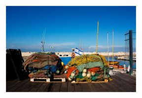 Fishing Nets - Jaffa - Color by thelizardking25
