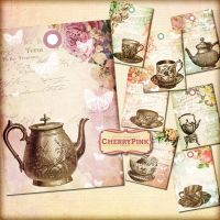 VINTAGE TEA TAGS printable tags by miabumbag