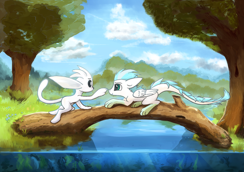 Ori and Patch by ScootieBloom