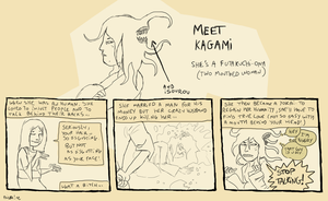 .:Meet Kagami:. by Zombimatic