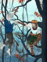 Kiss me, Jack Frost, and I'll live-- by SycamoreSea