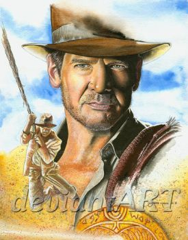 Dr. 'Indiana' Jones by JohnHaunLE