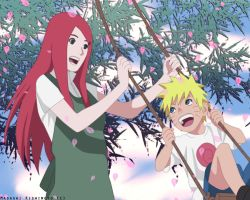 Road to Ninja: Kushina and Naruto by DP1757