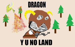 Skyrim Y U NO by OzzyMcRcky