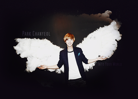 EXO-K Chanyeol: Into Your World (Angel) Deviant ID by pocket-girl