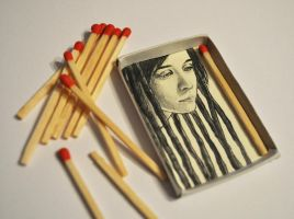 Box of matches by ElaRaczyk