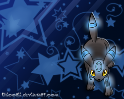Shiny Umbreon Wallpaper by Chicorii