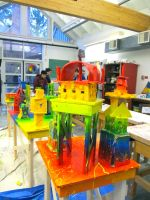 City of Abstraction - Almost Completed by LakesideSculpture14