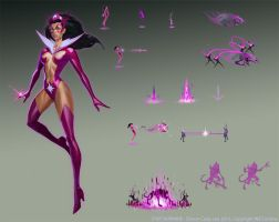 Infinite Crisis - Star Sapphire by Gorrem