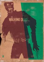 Walking Dead Retro Style by cunaka