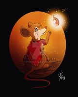 Mrs. Brisby and the secret of Nimh by kfcomics