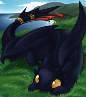 Toothless by Malkshake
