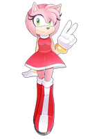 Just Amy Rose by ThisGirlInTheCorner