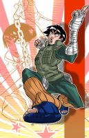 Rock Lee is Back by 5000WATTS