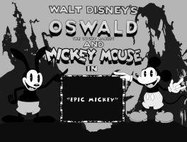 Epic Mickey oldschool title by rich-jammer