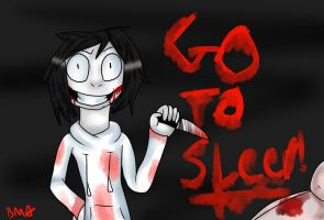 Jeff The Killer by TanookiBrookie