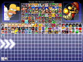 My M.U.G.E.N Roster as of 26/5/2013 by Mobian-Storyteller
