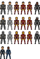 The Iron Suits by MicroManED