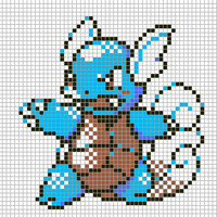 Wartortle by Hama-Girl