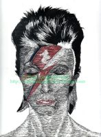 david bowie by firstgeneralmel