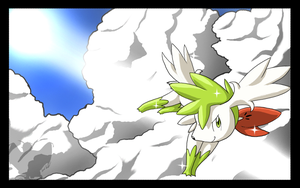 Shaymin Sky Form by shorty-antics-27
