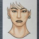Portrait of Koharu by Honesty-Art-Fashion