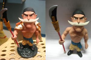 cold porcelain whitebeard by abnormalchild