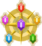 Elements of  harmony vectorized by iOVERD