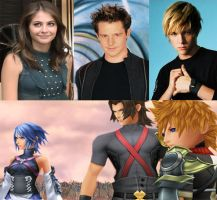 KH BBS voice dubbers by Dante12270