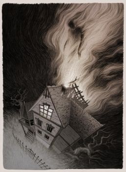 Moving out of the Crooked House by MadLittleClown