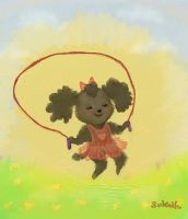 Jump rope in the sky by Sukeile