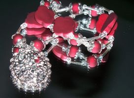 Acrylic Red by Bowsers-Baubles