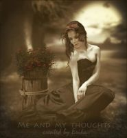 Me and my thoughts by Doucesse