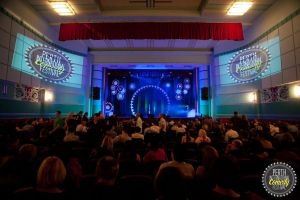 Perth International Comedy Festival- Main Theatre by dischordiasnightmare