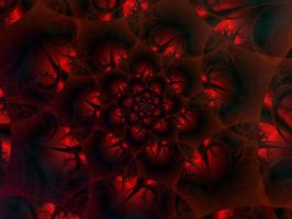 rose window by digitalblasphemy
