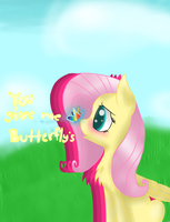 You give me butterfly's by amandaam