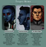 TV tropes Star Wars characters by Ddriana
