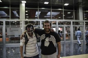 Chicago Wizard World 2012: Collin and I by Havoc-The-Tenrec