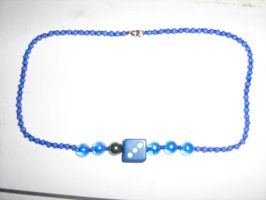 Blue d6 Necklace 2 by Serpentine16