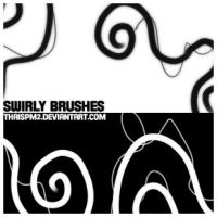 Swirly 2 brushes by thaispm2