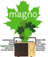 Magno Poster by Inyro-Gatling