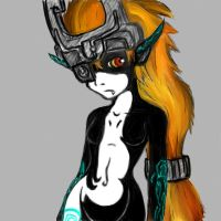 Midna by whiteless