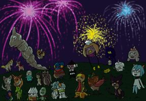 Fireworks Event Final by KasumiAlche