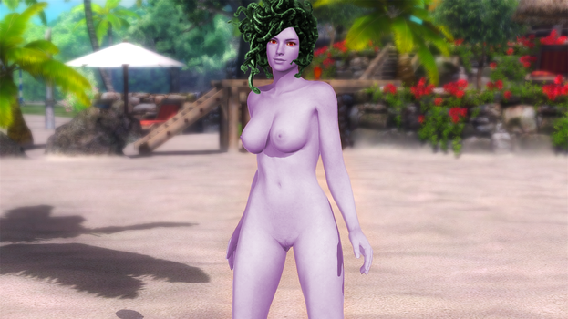 Medusa from Sexy Parodius in Dead or Alive 5-2 by AVGNJr1985